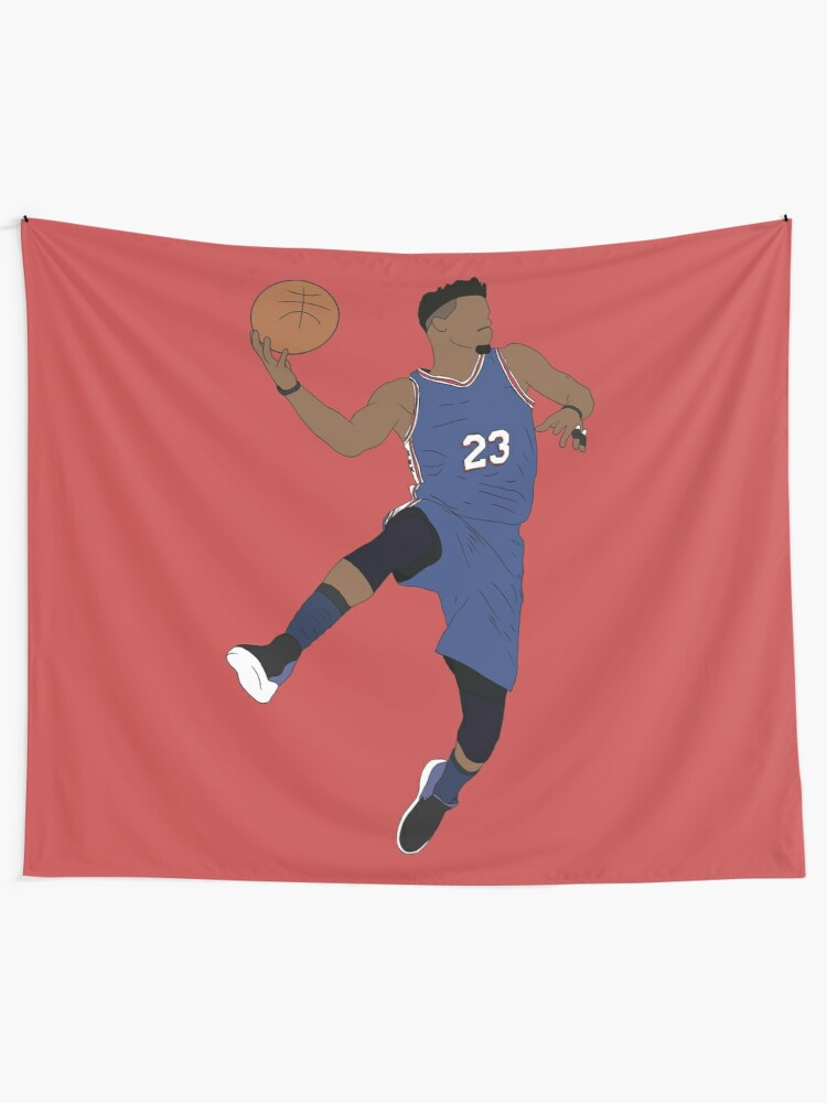 competitive price 12431 c8f6b Jimmy Butler Sixers | Wall Tapestry