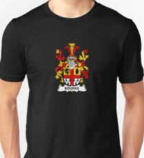 Bourke Coat of Arms - Family Crest Shirt Unisex T-Shirt