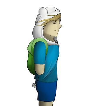 Finn the Human (no background) by bambi-drawings