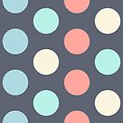 Dot pattern by experimentons