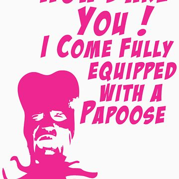 Tony Harrison - Equipped With A Papoose by DementedFerret