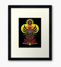 "My Virgen (""virgen"" Spanish for Virgin) Framed Print"