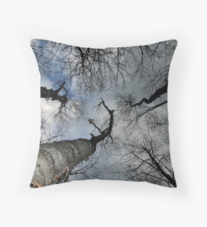 From the Ground UP Throw Pillow