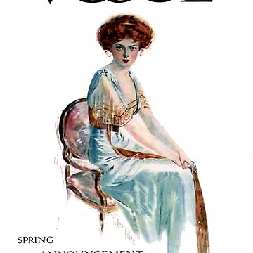 VOGUE : Vintage 1909 Magazine Advertising Print by posterbobs
