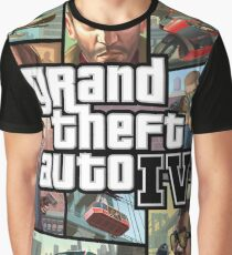 Grand Theft Auto IV Graphic T-Shirt