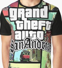 Grand Theft Auto San Andreas Graphic T-Shirt
