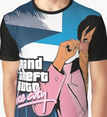 Grand Theft Auto Vice City Graphic T-Shirt