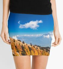 fall in the Julian Alps Mini Skirt