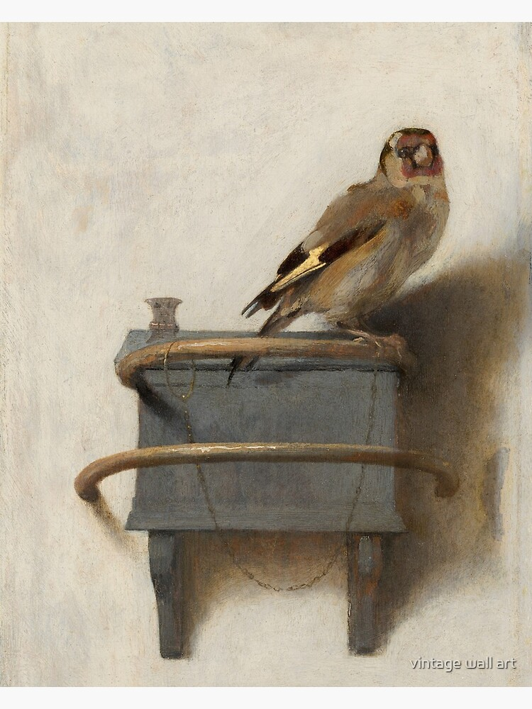 The Goldfinch by Carel Fabritius by fineearth