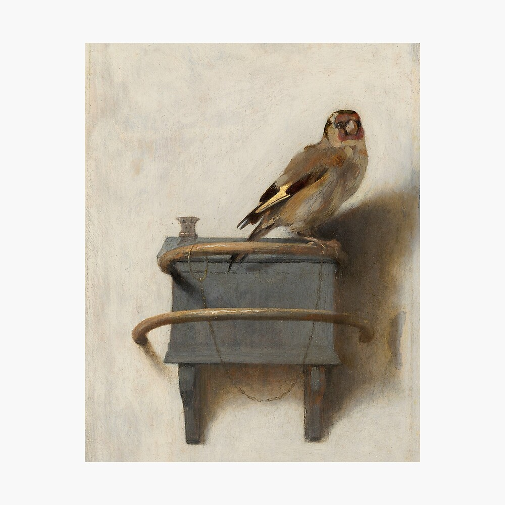 The Goldfinch by Carel Fabritius Photographic Print