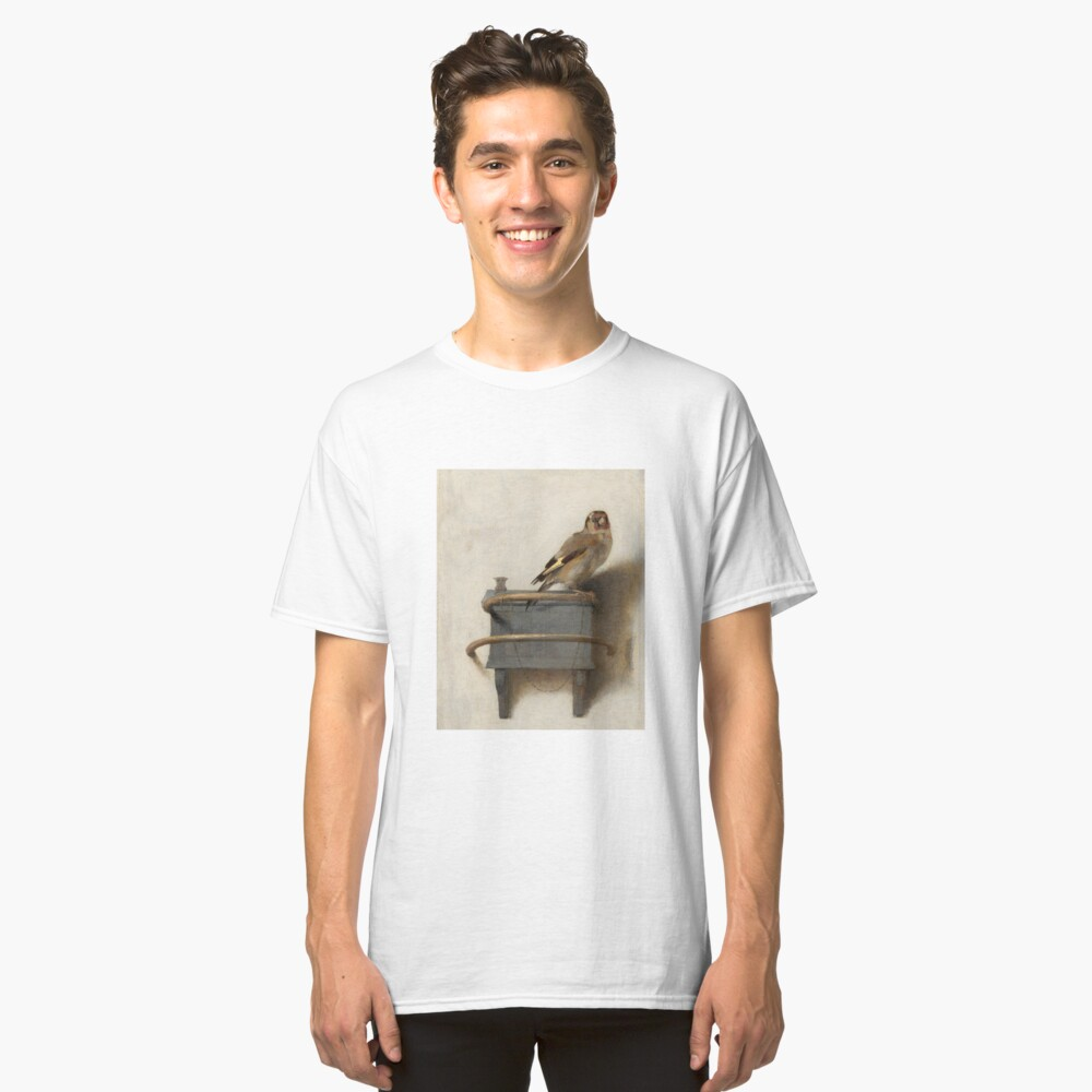 The Goldfinch by Carel Fabritius Classic T-Shirt