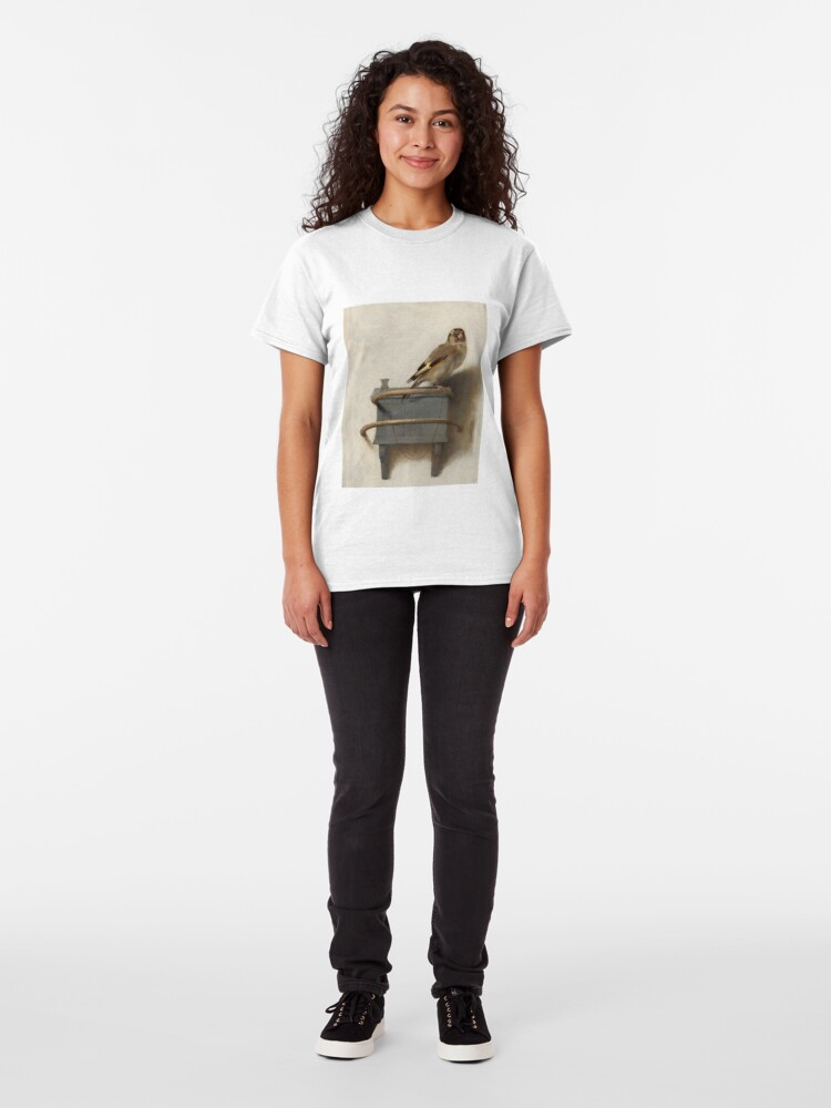 Alternate view of The Goldfinch by Carel Fabritius Classic T-Shirt