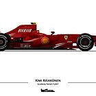 F1 - Kimi Raikkonen - Ferrari F2007 by JageOwen