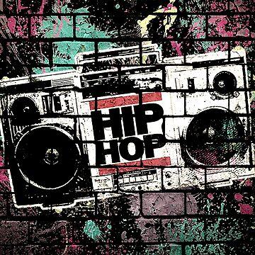 HIP HOP BOOMBOX by BobbyG305