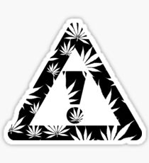Weed Is All We Need Sticker