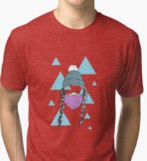 Snow femme Tri-blend T-Shirt