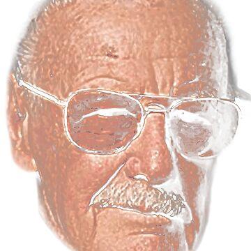 Stan Lee, the Amazing Hero by Adik