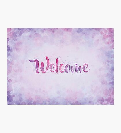 A Warm Welcome Photographic Print
