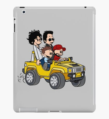 Hitting Queens Boulevard iPad Case/Skin