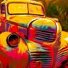 Colorful Truck by Nora Gad