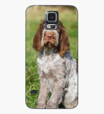 Brown Roan Italian Spinone Puppies Case/Skin for Samsung Galaxy