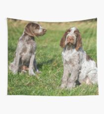 Brown Roan Italian Spinone Puppies Wall Tapestry