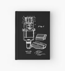 Vintage Microphone Patent Invention 1938 Hardcover Journal