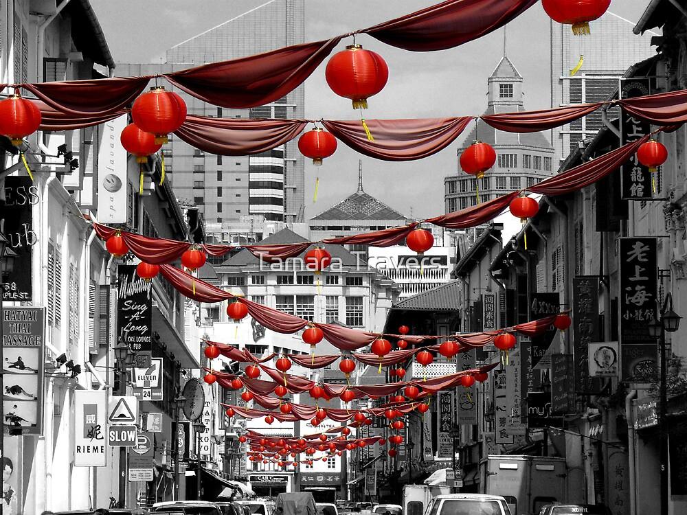 Chinatown, Singapore by Tamara Travers