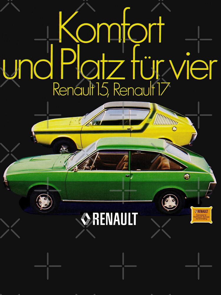 RENAULT 15 and 17 by ThrowbackMotors