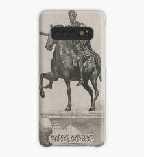 Vintage Marcus Aurelius Statue Illustration (1889) Case/Skin for Samsung Galaxy