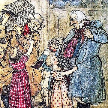 A Christmas Carol - Arthur Rackham illustrated for Charles Dickens by forgottenbeauty