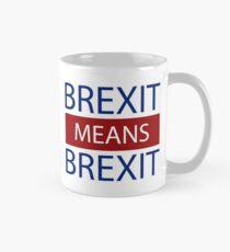 Brexit Means Brexit, Leave Means Leave Mug