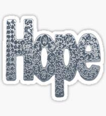 """Hope floats 2"" Sticker"