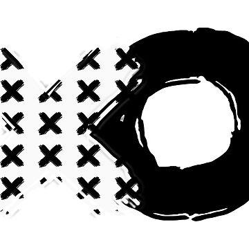 White X's Black O by Banta