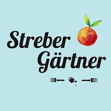gardener garden gardener urban gardening humor gift plant gardening apple watering can flower organic vegan by originalstar