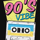 90s Vibe Retro Costume Party Outfit Colorful Music by Kieran Abbott