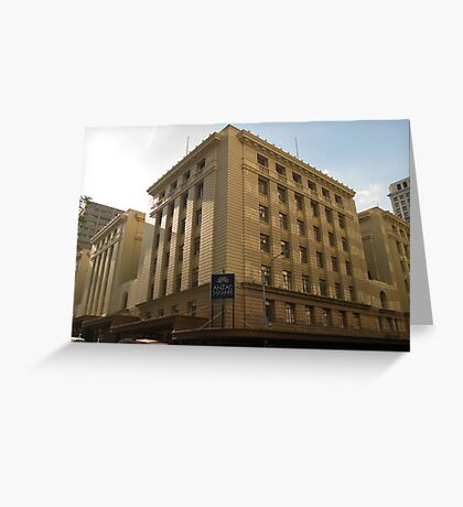 Anzac Square Building - Edward St.  Greeting Card