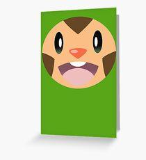 Pokemon - Chespin / Harimaron Greeting Card