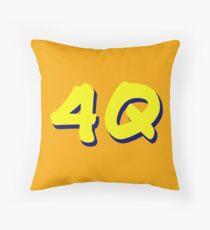 4Q Throw Pillow