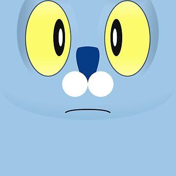 Pokemon - Froakie / Keromatsu by zefiru