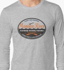 Manistee River Michigan  Long Sleeve T-Shirt
