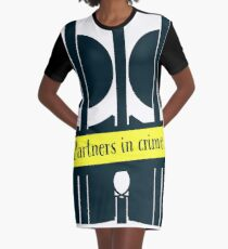 Partners in Crime for True Crime Junkies and Murderinos Graphic T-Shirt Dress