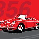 Porsche 356 by WadZat
