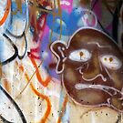 Brown Face Graffiti  by rdshaw