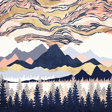 Winter's Sky by spacefrogdesign