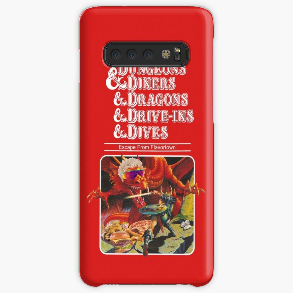 Dungeons & Diners & Dragons & Drive-Ins & Dives: Etwas größeres Bild Hüllen & Klebefolien für Samsung Galaxy