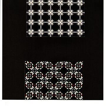 Christmas black design by AlyinWonderland