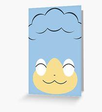 Pokemon - Panpour / Hiyappu Greeting Card