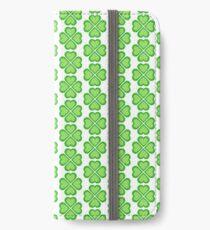 Four Leaf Clover iPhone Wallet/Case/Skin