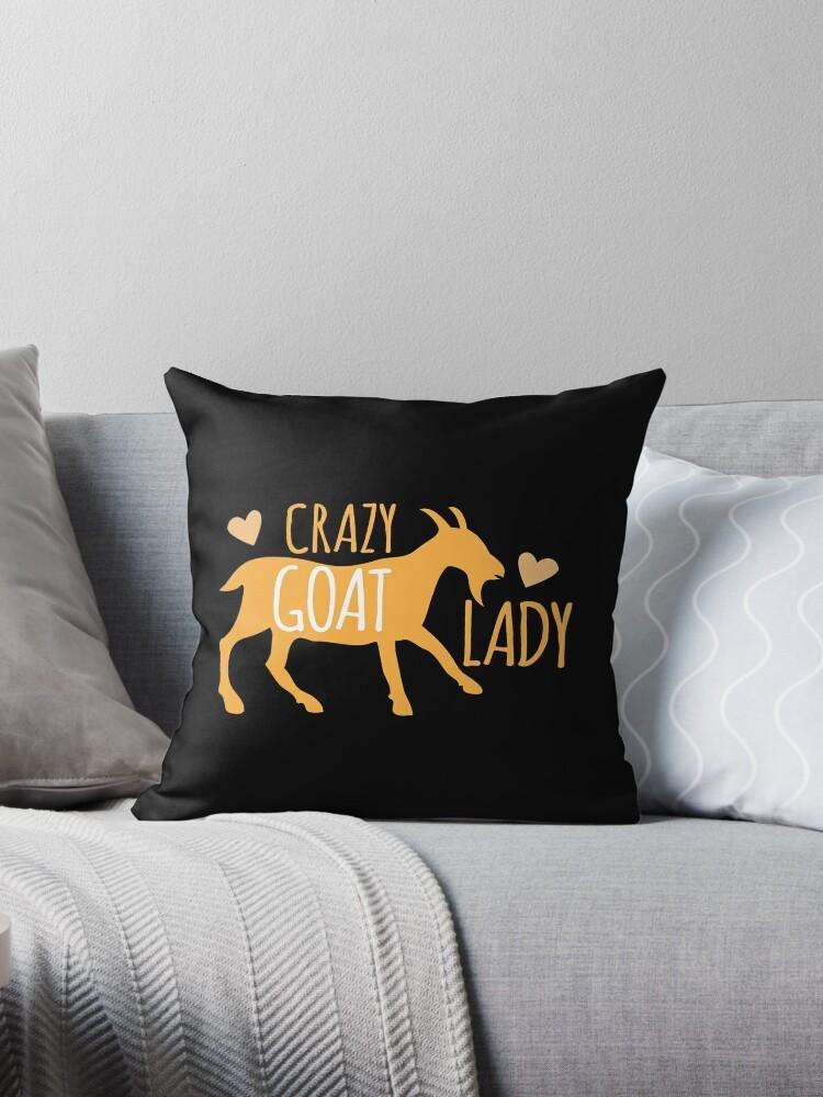 Crazy GOAT lady by jazzydevil